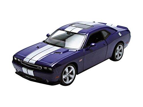 Welly 2013 Dodge Challenger SRT Hard Top 1/24 Scale Diecast Model Car Purple (Dodge Challenger Srt Diecast compare prices)