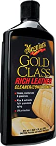 Meguiar's Gold Class Rich Leather Cleaner and Conditioner from Meguiar's