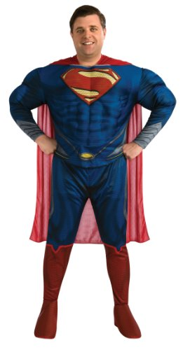 Rubie's Costume Plus-Size Man Of Steel Deluxe Adult Superman Costume