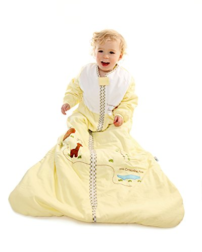 Winter Baby Sleep Sack Long Sleeves 3.5 Tog - Zoo - 6-18 mth MEDIUM
