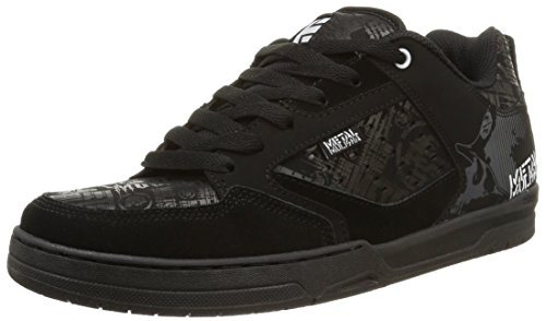 EtniesMETAL MULISHA CARTEL - Sneaker uomo, Nero (black/black/white), 45