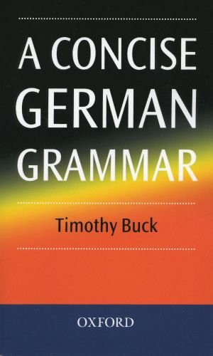 A Concise German Grammar