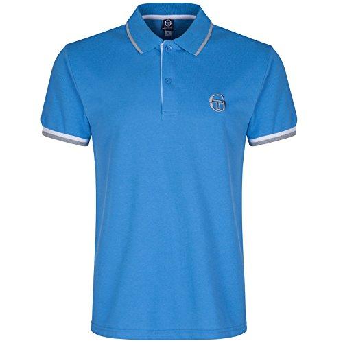 Sergio Tacchini da uomo Polo Shirt Blue Small