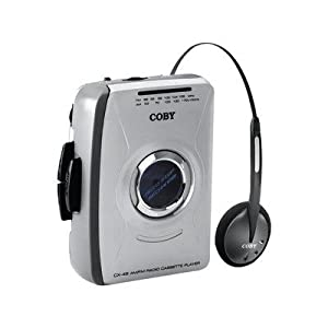 New-COBY CX49 PERSONAL AM/FM STEREO CASSETTE PLAYER - CBYCX49
