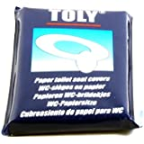 Pack of 10 toilet seat covers