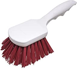 Carlisle 4054105 Sparta Spectrum Polypropylene Handle General Clean Up Brush, Polyester Bristles, 8\