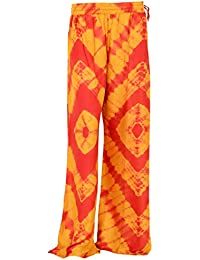 Sohni Women's Rayon Ethnic Bottom (Multi-Coloured, Free Size Upto 44)