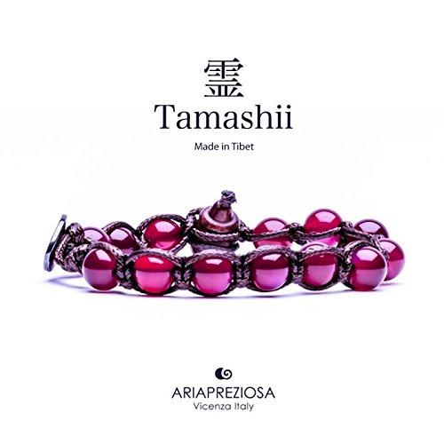 Bracciale Tamashii Unisex BHS900-34 Tessuto Pietre dure