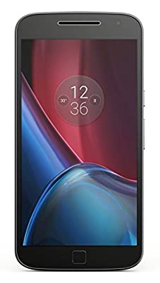 Moto G Plus, 4th Gen (Black, 32 GB) - Upgradable to Android 7.0 Nougat