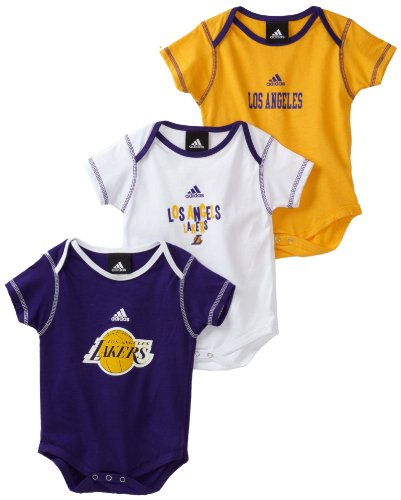 NBA Los Angeles Lakers 3 Piece Bodysuit Set - R228Sxla Infant