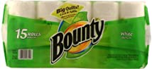 Bounty Paper Towels White 15-Count Package