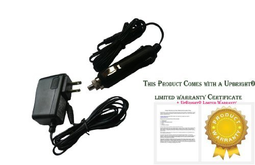 UpBright® NEW AC/DC Adapter + Car DC Charger For Cobra CJIC 250 CJS 50 Portable Jump Starter Powerpack Power Supply Cord Cable Battery PSU (Cobra Jump Starter Power compare prices)