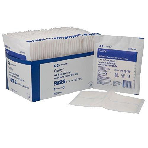 mckesson-9190a-pad-curity-wet-pruf-ab-st-9-x-5-impermeabile-in-tessuto-non-tessuto-confezione-da-36-
