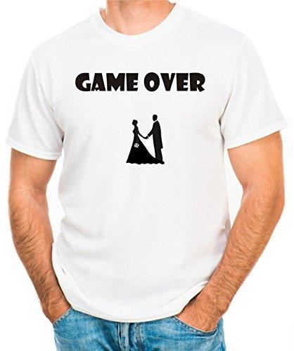 """T-shirt Addio al celibato """"Game Over"""" - Maglia Uomo"""