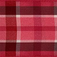 Offray Color Plaid Ribbon, 1 1/2