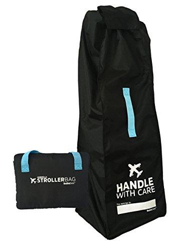 Bububee Elua Single Umbrella Style Stroller Gate Check