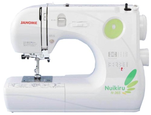 JANOME コンパクト電子速度制御ミシン 【Nuikiru】 N-365