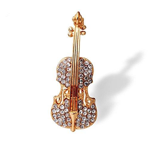 Tri-Elt-Damen-Geige-Form-Brosche-Instrument-Design-Anstecknadel-mit-Strasssteinen-Tuchclip-Tuchspange-Schalclip-Schmuck-fr-Schals-Pullover-Kragen-Anzug