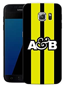 """Above And Beyond Logo - YellowPrinted Designer Mobile Back Cover For """"Samsung Galaxy S7 Edge"""" (3D, Matte, Premium Quality Snap On Case)"""
