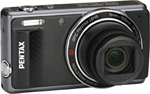 Pentax Optio VS20 16MP Digital Camera with 20X Optical Zoom and 3-Inch LCD Screen (Black)