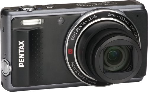 Pentax 14116 Optio VS20 16 MP Digital Camera with 20X Extra Wide Optical Zoom, Dual Shutter Release and Zoom Buttons and 3.0-Inch LCD (Black)