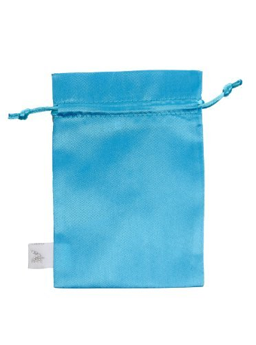 Little Adventures Princess Satin Gift Bag Teal - 1
