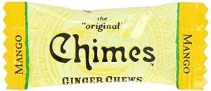 Chimes Mango Ginger Chews, 5-Pound Box