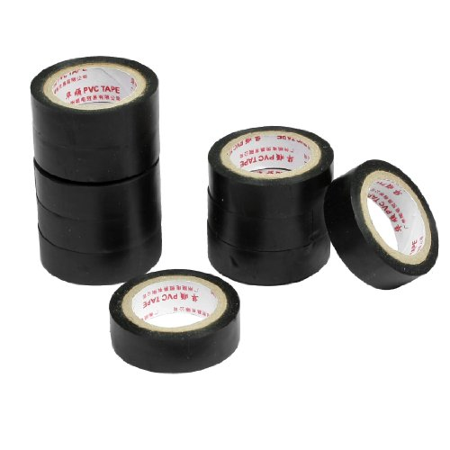 10-pcs-black-self-adhesive-pvc-insulating-electrical-tape-14mm-width