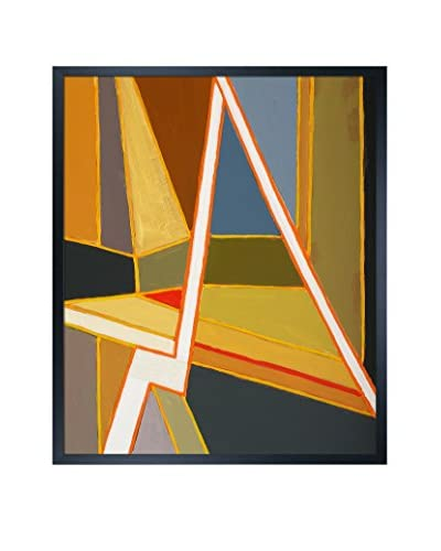 Clive Watts Modernist Abstract Painting Framed Print On Canvas, Multi, 25.5″ x 21.5″