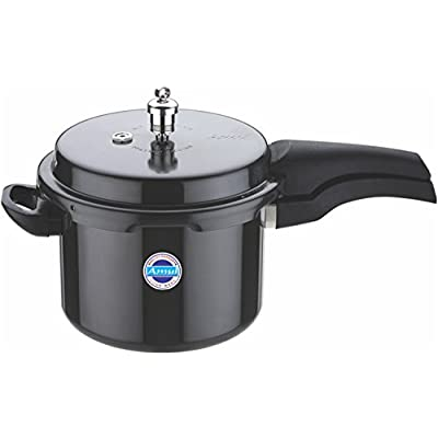 Amul Classic Outer Lid Hard Anodized Aluminium Pressure Cooker, 1.5 ...