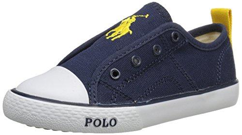POLO RALPH LAUREN - Scarpa blu, in tessuto, ragazzo e ragazzi, Bambino-33
