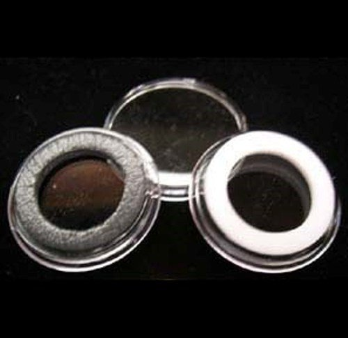 10 White Ring Type 16mm Air Tite Coin Holders for 1/10oz Gold Eagles - 1