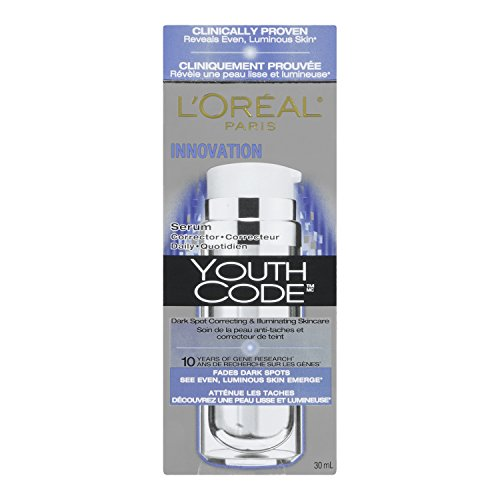 L'Oreal Paris discount duty free L'Oreal Youth Code Dark Spot Serum Corrector, 1 Fluid Ounce