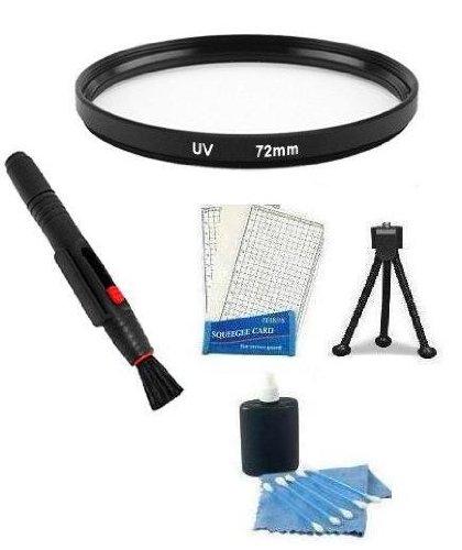 Essential Lens Accessory Kit Uv Filter + Lens Cleaning Pen + Mini Tripod + Lcd Screen Protectors + Camera Cleaning Kit For Canon Xha1 Xhg1 Xl1 Xl1E Xl1S Xl2 Xl2E, Panasonic Ag-Dvx102 Dvx100B