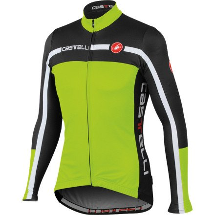Buy Low Price Castelli Velocissimo Equipe Jersey – Long-Sleeve – Men's (B0093QAZIE)