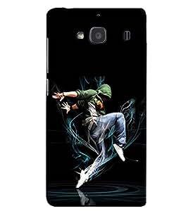printtech Dance Back Case Cover for Xiaomi Redmi 2S::Xiaomi Redmi 2::Xiaomi Redmi 2 Prime