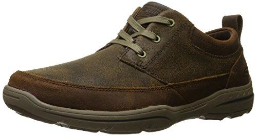 Skechers (SKEES) - Harper- Olney, Scarpa Tecnica da uomo, marrone (brn), 45