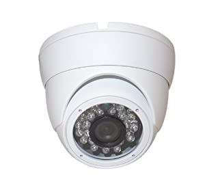"""Evertech Cctv Security Camera - 700 TVL, Day Night Vision Ir Home Security Camera Vandal Proof Indoor/outdoor 1/3"""" Sony Super HAD Ccd, 90 Degree Wide View Angle Lens, 23-24 Infrared Led's Surveillance Camera"""