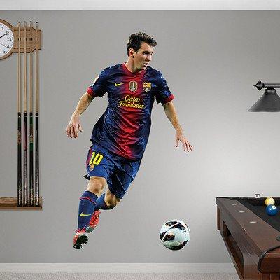"FC Barcelona Lionel Messi - 2013 Fathead 3'9""W x 6'5""H Huge!"