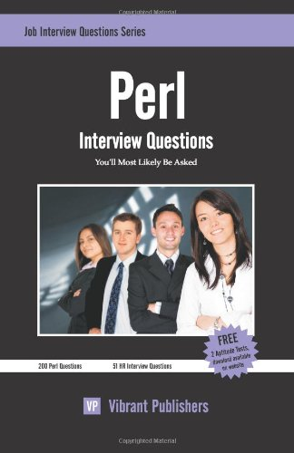 Perl Interview Questions You'll Most Likely Be Asked