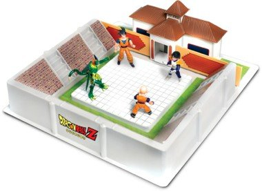 arena di dragonball z con personaggio gig