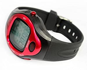Buy amtonseeshop Random Color Blue, Silver and Redfitness Sport Pulse Watch with Heart Rate Monitor and Calorie Counter... by amtonseeshop