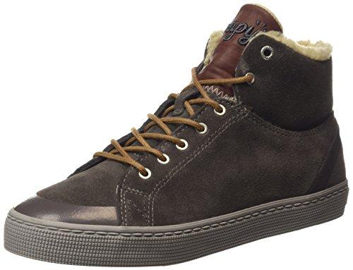 Napapijri Ellen, Sneaker alta donna, Grigio (Grau (grey stone N80)), 38