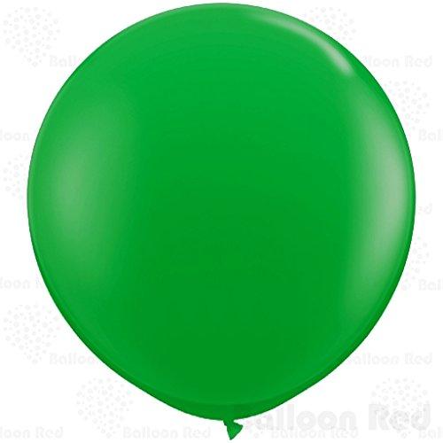 27 Inch Giant Jumbo Latex Balloons (Premium Helium Quality), Pack of 12, Green