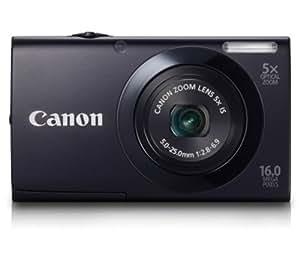 Canon PowerShot A3400 IS Digitalkamera (16 Megapixel, 5-fach opt. Zoom, 7,6 cm (3 Zoll) Touch-Display, bildstabilisiert) schwarz