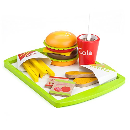 Wood Eats! Fast Food Deluxe Dinner by Imagination Generation (Deluxe Kitchen Bbq Grill Set compare prices)