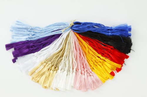 100 Assorted Colors Bookmark Tassels