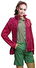 Quirell Women39s Ultraviolet Resistant Windproof Lightweight Polyester Long Sleeve Jackets - White -