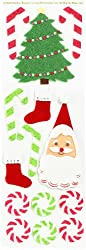 Martha Stewart Crafts Felt Santa Stickers