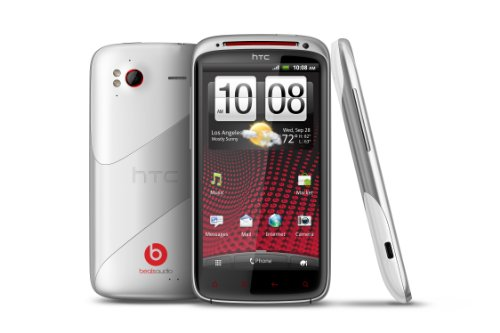 HTC Sensation XE Sim Free Smartphone with Beats Audio - White Black Friday & Cyber Monday 2014